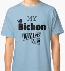 Bichon Crown  Classic T-Shirt