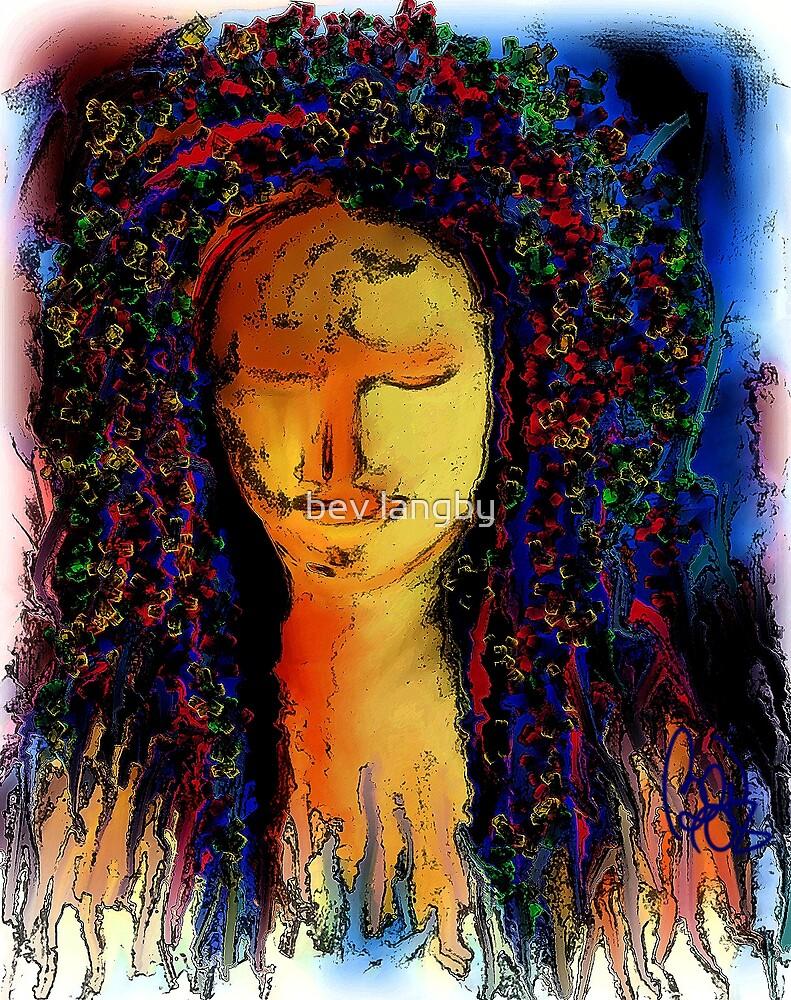 Painter goddess dark/ the evil side  by bev langby