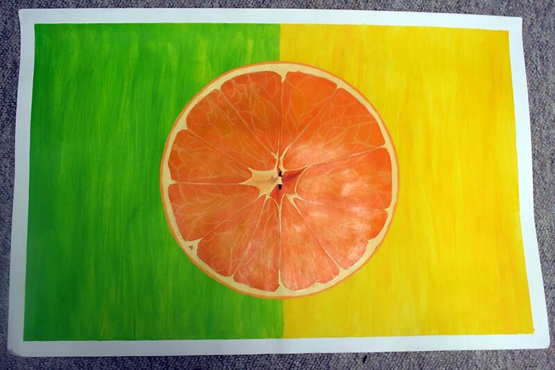 Orange in Harmony by twin333