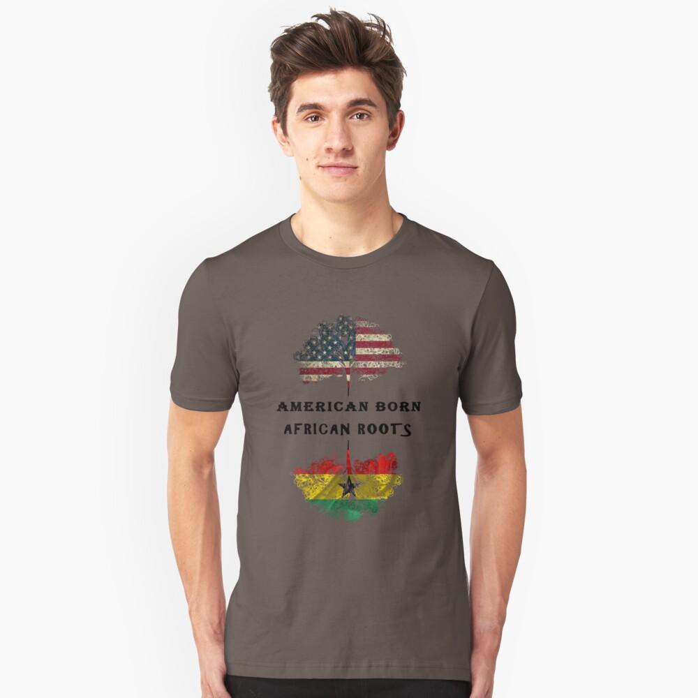 Afrikanisch geborene, afrikanische Wurzeln Slim Fit T-Shirt