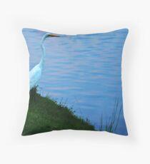 Waterbird I Throw Pillow