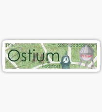 Ostium Water Tower Bumper Sticker Sticker