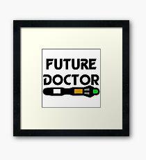 Future Doctor Framed Print