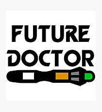 Future Doctor Photographic Print