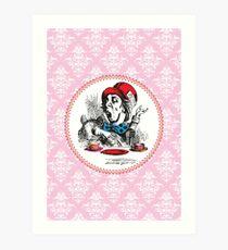 Alice in Wonderland | The Mad Hatter Art Print
