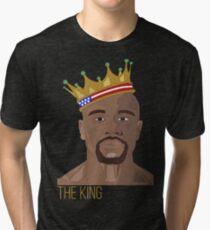 King Mayweather - The King Tri-blend T-Shirt