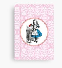 Alice in Wonderland | Drink Me Canvas Print