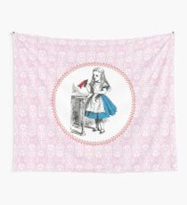 Alice in Wonderland | Drink Me Wall Tapestry