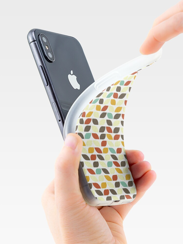 Alternate view of Geometric Pattern: Leaf: Fall iPhone Case & Cover