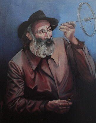 MR. GRANDEO'S PSYCHOTHERAPHY, limited edition giclee of D.KLIKOVAC painting  by Drasko Klikovac
