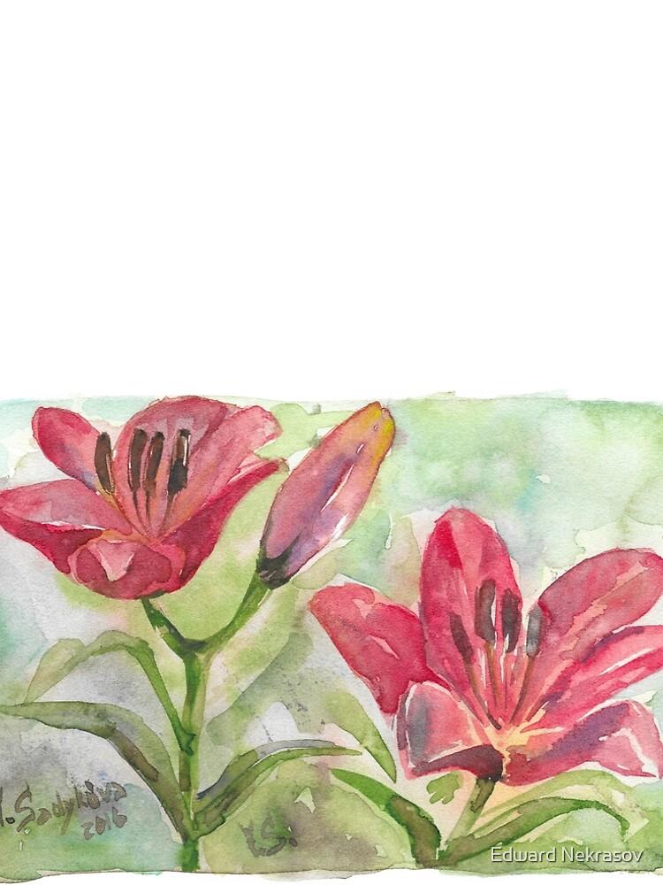 Lilies by Sadykova