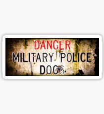 Military Police Dogs Sticker
