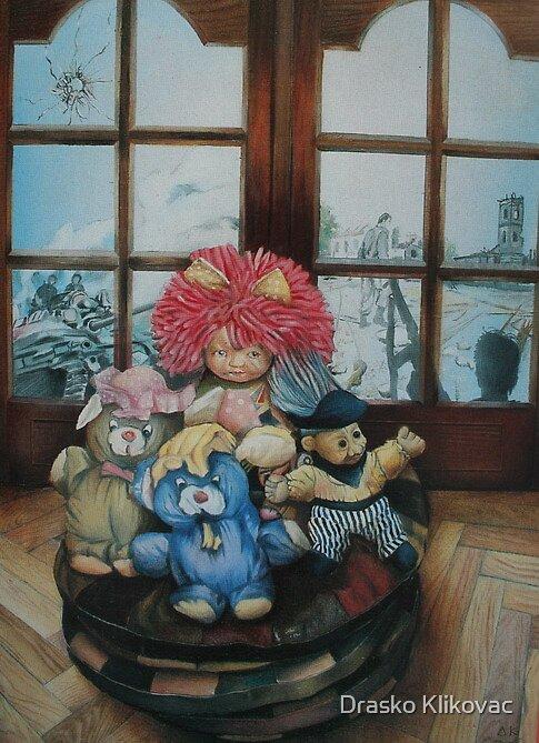STILL LIFE, limited edition giclee of D.KLIKOVAC painting  by Drasko Klikovac