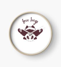 Free Hugs Clock