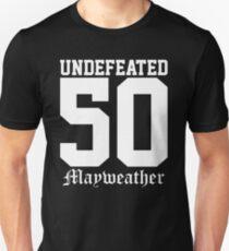 undefeated 50 floyd mayweather T-Shirt