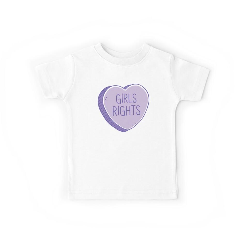 Rechte der Mädchen im Süßigkeitsherzen von jazzydevil