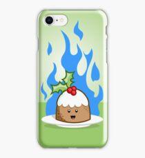 Flaming Pudding iPhone Case/Skin