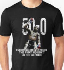 Mayweather 50-0 shirt T-Shirt