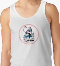 Alice in Wonderland | Alice trying to play croquet with a Flamingo and Hedgehogs Tank Top