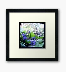 At the bottom of the Garden Framed Print