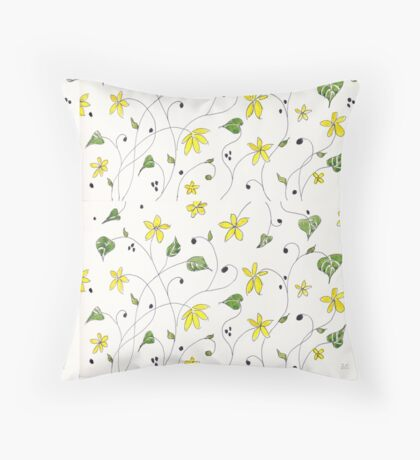 Spring splendour Throw Pillow
