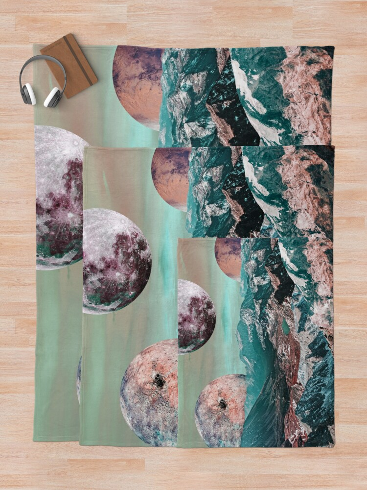 Alternate view of Lucid Dreaming Throw Blanket