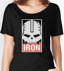 Warhammer 40k Inspired Iron Warriors IRON Women's Relaxed Fit T-Shirt
