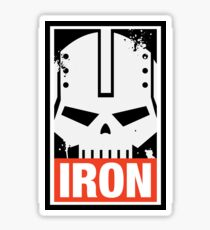 Warhammer 40k Inspired Iron Warriors IRON Sticker