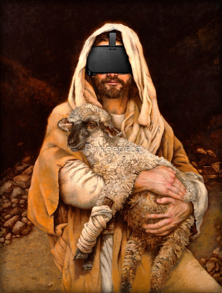 Oculus Christ and the Lamb by Phneepers