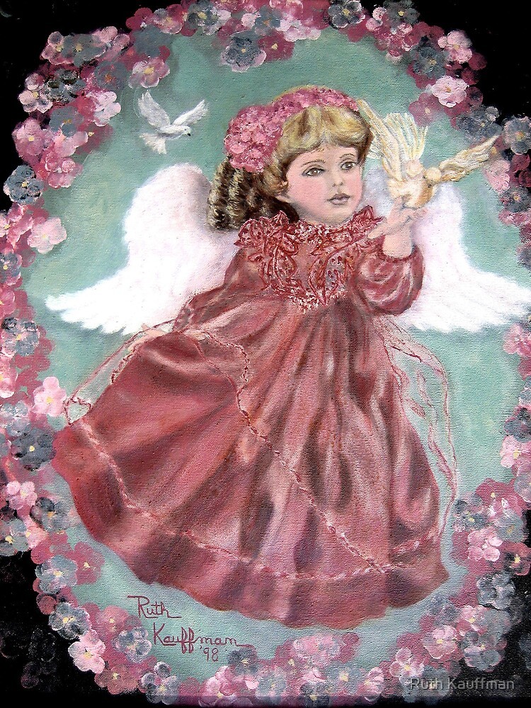 """Peace Angel"" by Ruth Kauffman"