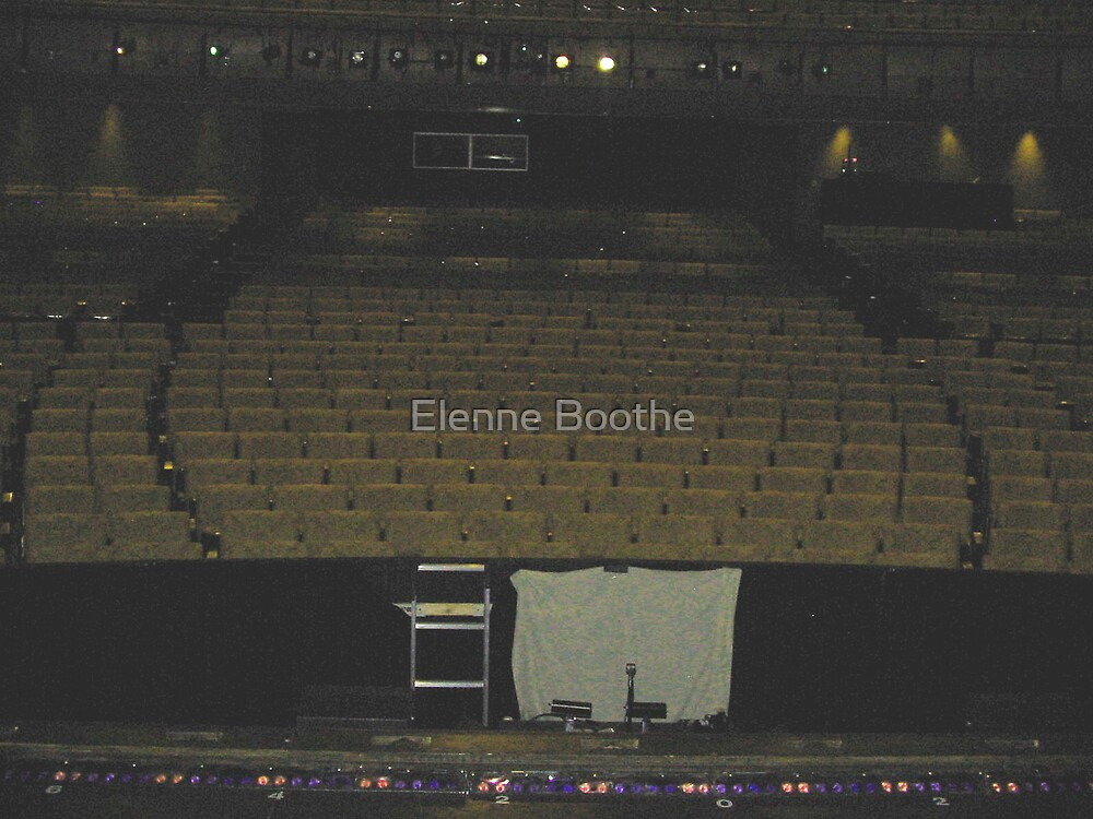 The stage has been sit by Elenne Boothe