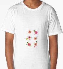 Flower Set Long T-Shirt