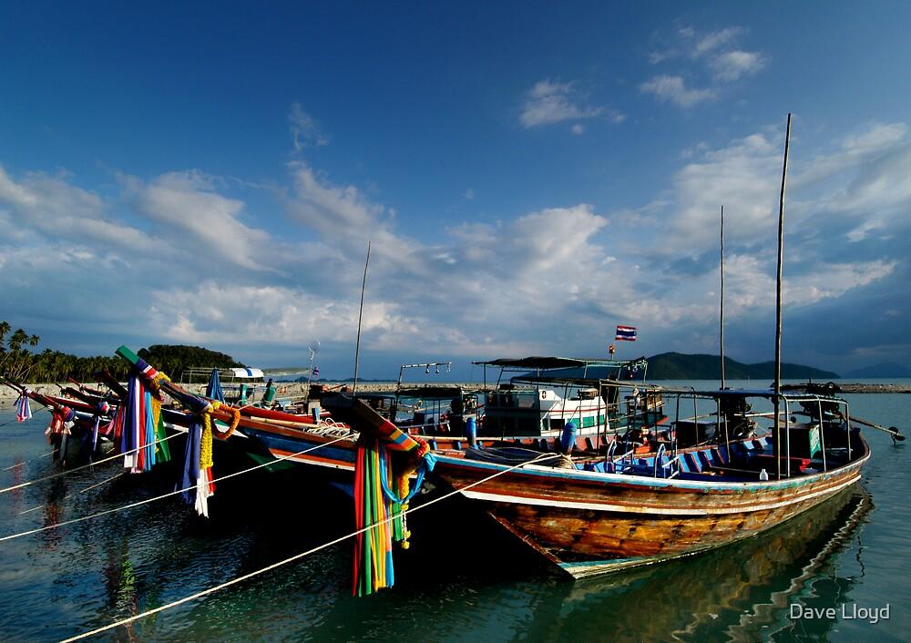 Fishing Boats by Dave Lloyd