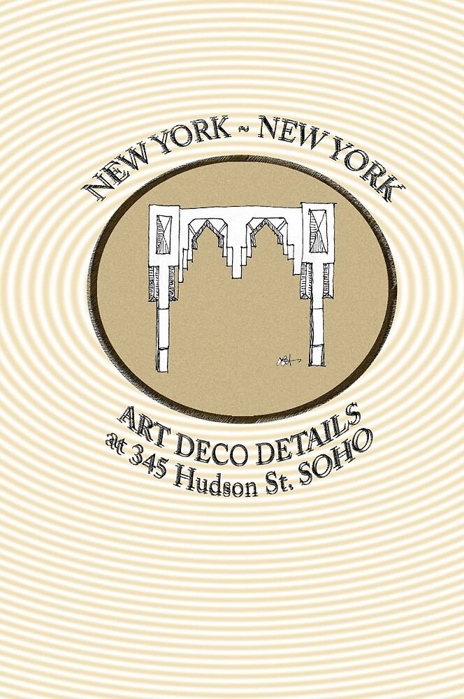 NYC building details 3 - SOHO Art Deco by James Lewis Hamilton