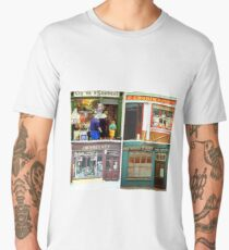 Irish shopfronts Men's Premium T-Shirt
