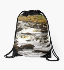 Falls of Dochart Drawstring Bag