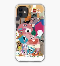 The Amazing World of Gumball Characters iphone case