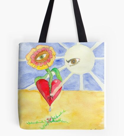 Opening my Heart Tote Bag