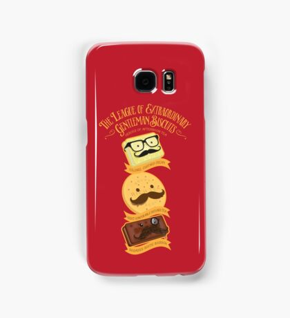 The League of Extraordinary Gentleman Biscuits Samsung Galaxy Case/Skin