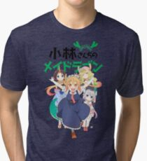 Miss Kobayashi's Dragon Maid Tri-blend T-Shirt