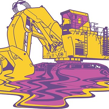 the excavator melt by damnoverload