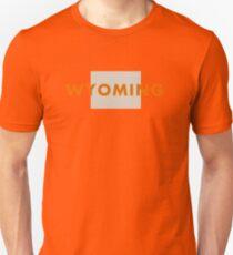Wyoming - Red Unisex T-Shirt