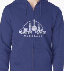 Walter White Meth Labs Zipped Hoodie