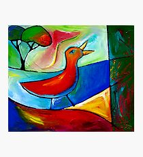 TRUE SONG OF THE LOVEBIRD. Photographic Print