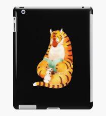 Reading Tiger iPad Case/Skin