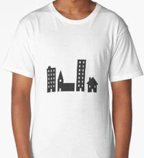 Buildings Long T-Shirt