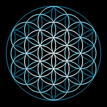 Flower of Life by symbols