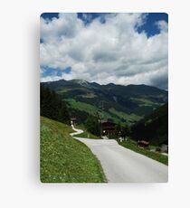 Alpine Road Canvas Print