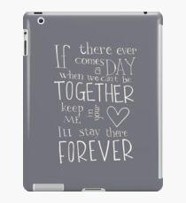 Together Forever  iPad Case/Skin