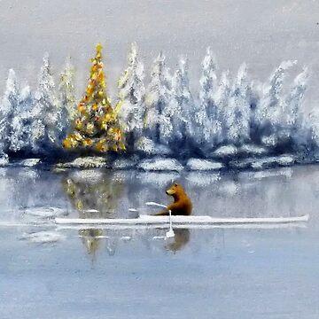 Merry Chrismas Mr. Bear by mairundmair